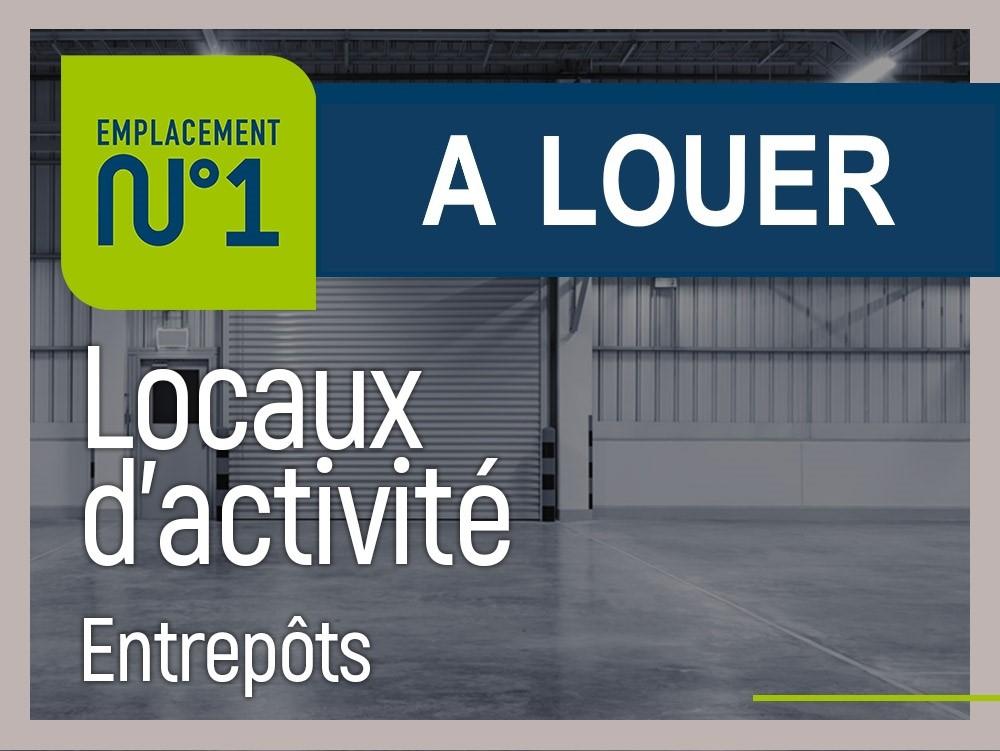 A louer - Bâtiment 1000 m² d'activité + Bureaux - Mornant - Bureau Local Entrepôt